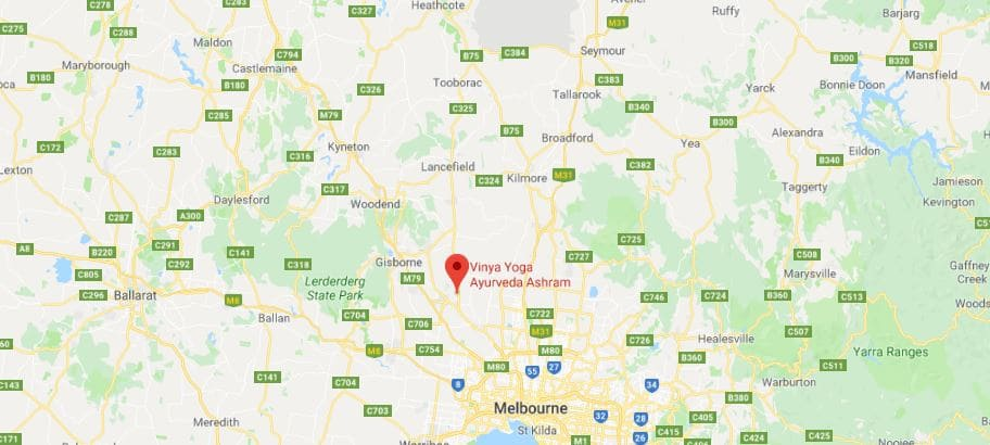 Vinya Yoga Sunbury VIC-3429 Location Map